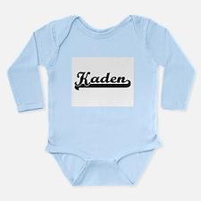 Kaden Classic Retro Name Design Body Suit