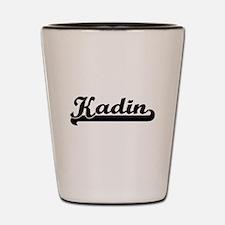 Kadin Classic Retro Name Design Shot Glass