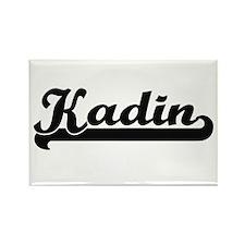 Kadin Classic Retro Name Design Magnets