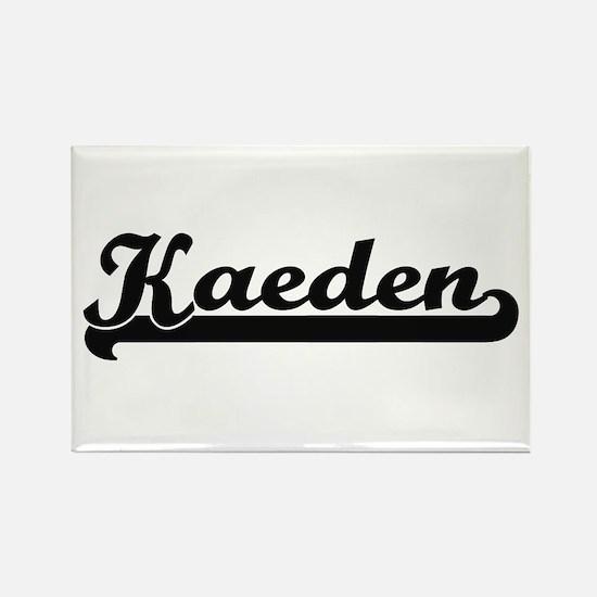 Kaeden Classic Retro Name Design Magnets
