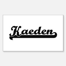 Kaeden Classic Retro Name Design Decal