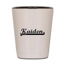 Kaiden Classic Retro Name Design Shot Glass