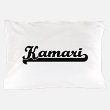 Kamari Classic Retro Name Design Pillow Case