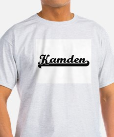 Kamden Classic Retro Name Design T-Shirt