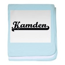 Kamden Classic Retro Name Design baby blanket