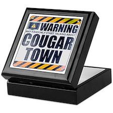 Warning: Cougar Town Keepsake Box