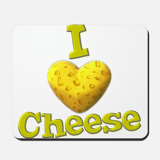 funny cute i heart love cheese cheesey heart Mouse