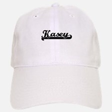 Kasey Classic Retro Name Design Baseball Baseball Cap