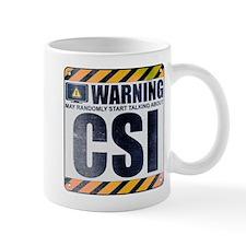 Warning: CSI Mug
