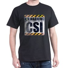 Warning: CSI T-Shirt