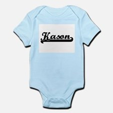 Kason Classic Retro Name Design Body Suit