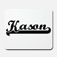 Kason Classic Retro Name Design Mousepad