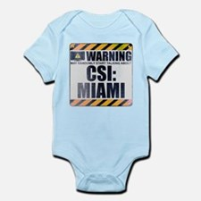 Warning: CSI: Miami Infant Bodysuit