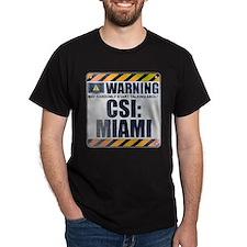 Warning: CSI: Miami T-Shirt