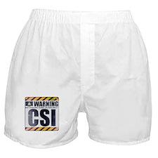 Warning: CSI Boxer Shorts