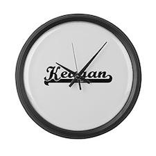 Keagan Classic Retro Name Design Large Wall Clock