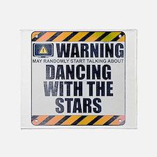 Warning: Dancing With the Stars Stadium Blanket