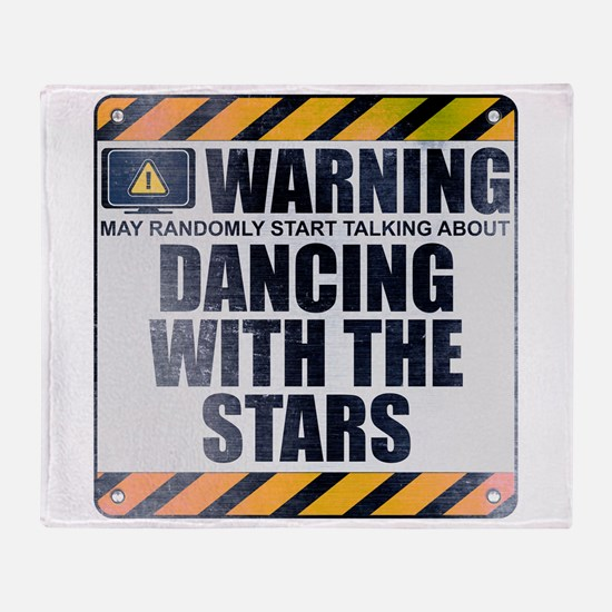 Warning: Dancing With the Stars Stadium Blanket