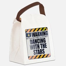 Warning: Dancing With the Stars Canvas Lunch Bag