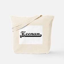 Keenan Classic Retro Name Design Tote Bag