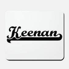 Keenan Classic Retro Name Design Mousepad