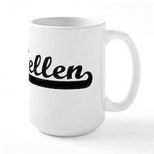 Kellen Classic Retro Name Design Mugs