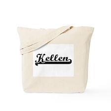 Kellen Classic Retro Name Design Tote Bag