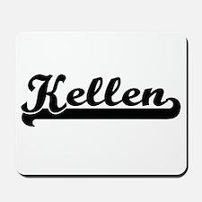 Kellen Classic Retro Name Design Mousepad