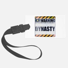 Warning: Dynasty Luggage Tag
