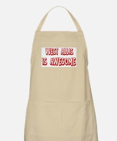 West Allis is awesome BBQ Apron