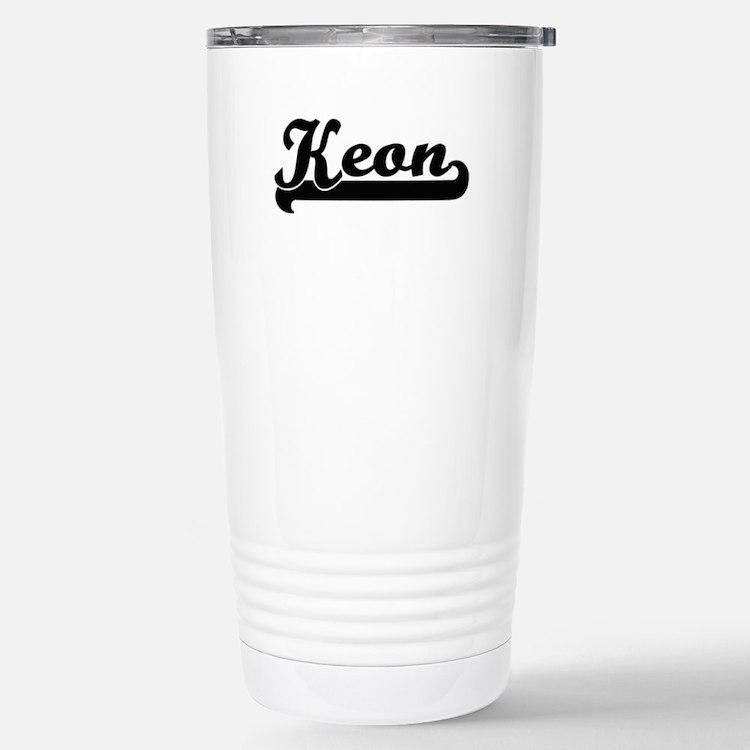 Keon Classic Retro Name Travel Mug