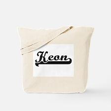 Keon Classic Retro Name Design Tote Bag