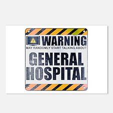 Warning: General Hospital Postcards (Package of 8)