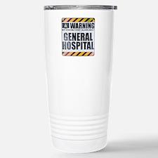 Warning: General Hospital Ceramic Travel Mug