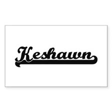 Keshawn Classic Retro Name Design Decal
