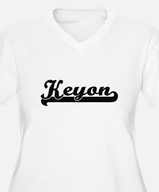 Keyon Classic Retro Name Design Plus Size T-Shirt