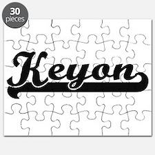 Keyon Classic Retro Name Design Puzzle