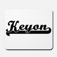 Keyon Classic Retro Name Design Mousepad