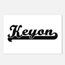 Keyon Classic Retro Name Postcards (Package of 8)