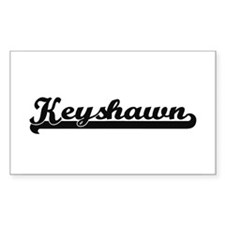 Keyshawn Classic Retro Name Design Decal