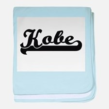 Kobe Classic Retro Name Design baby blanket
