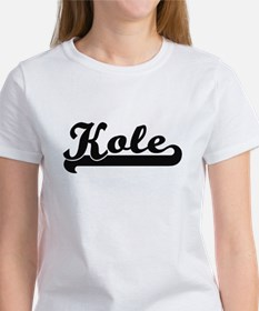 Kole Classic Retro Name Design T-Shirt