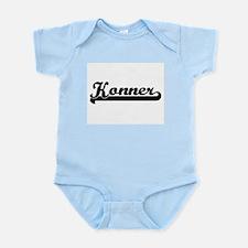 Konner Classic Retro Name Design Body Suit