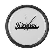 Konner Classic Retro Name Design Large Wall Clock