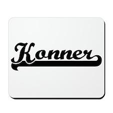 Konner Classic Retro Name Design Mousepad