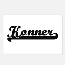 Konner Classic Retro Name Postcards (Package of 8)