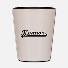 Konnor Classic Retro Name Design Shot Glass