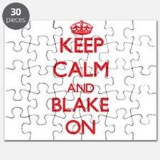 Keep Calm and Blake ON Puzzle