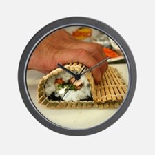 Making Sushi Wall Clock