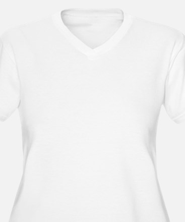 Solid white Plus Size T-Shirt